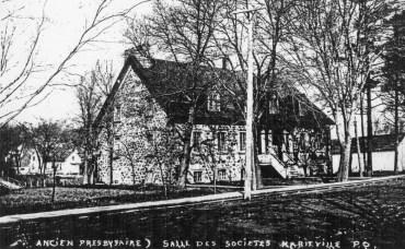 presbytère-chapelle 1900...